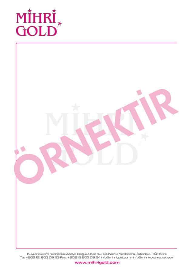 antetli kagit 5 - Antetli Kağıt
