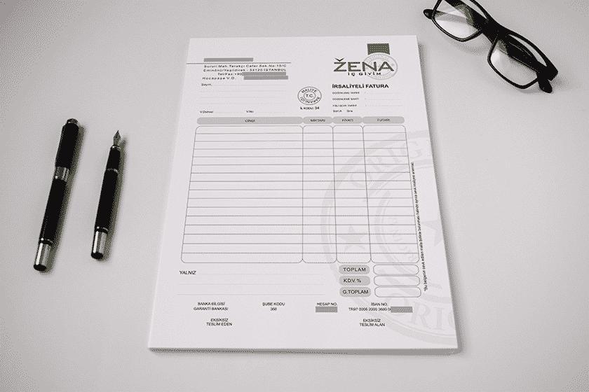 fatura basımı örneği - fatura basımı örneği