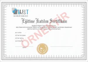 Alist Eğitim Sertifikası 300x212 - Alist Eğitim Sertifikası