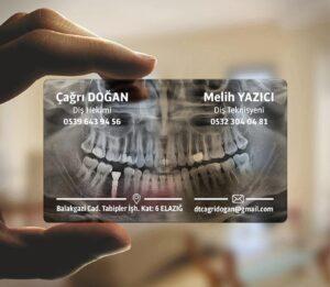 Diş Hekimi Şeffaf Kartvizit 300x261 - Diş Hekimi Şeffaf Kartvizit